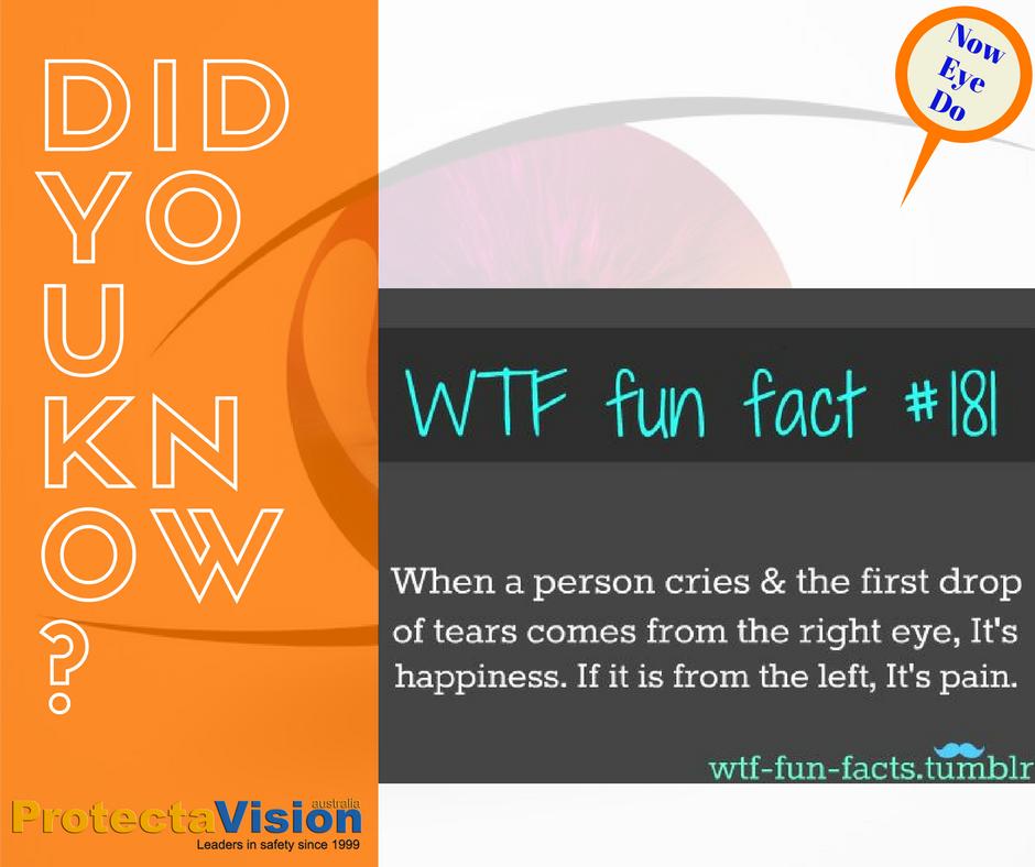 Fun Fact Friday!! - Protecta-Vision Australia